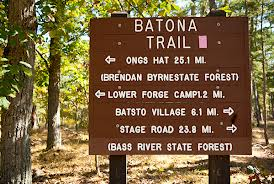 Batona Trail Sign
