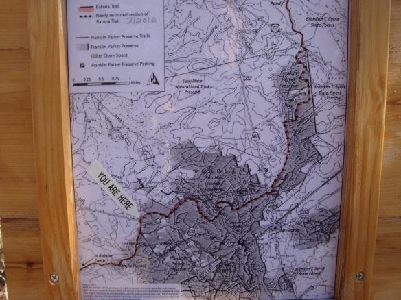 Batona Trail detour
